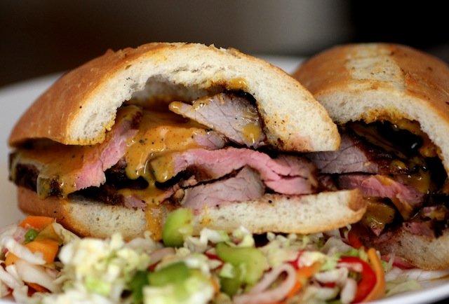 Santa Maria Tri-Tip Steak Sandwich, Memphis Minnie's SF