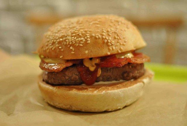 Burger from Bioburger
