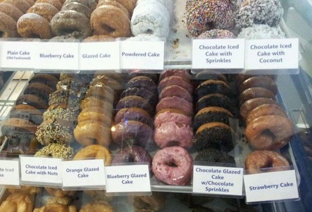 Donuts at Blue Dot Donuts New Orleans