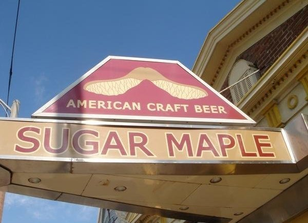Sugar Maple sign