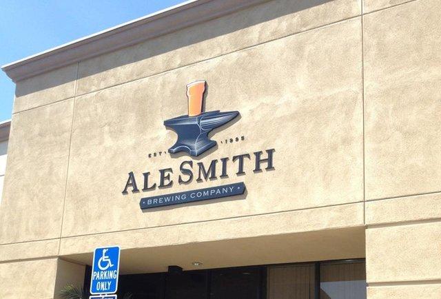 Alesmith sign