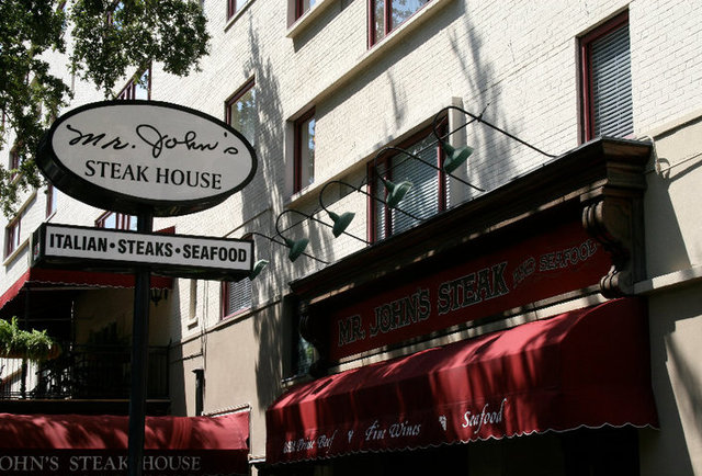 Mr. John's Steakhouse NOLA