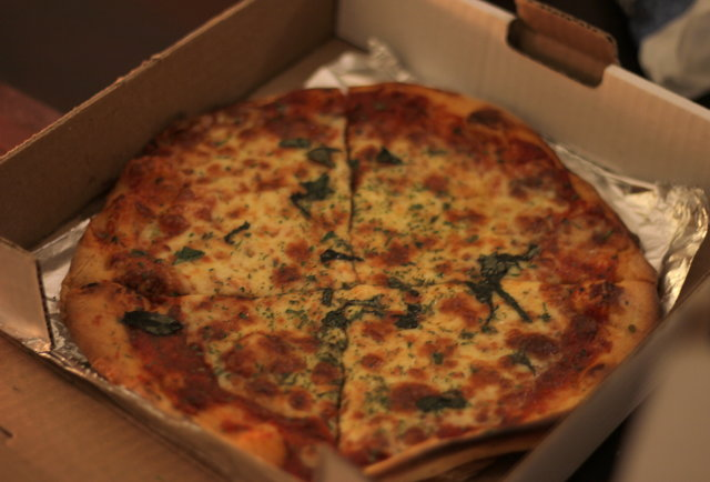 Pizza St. Viateur Montreal