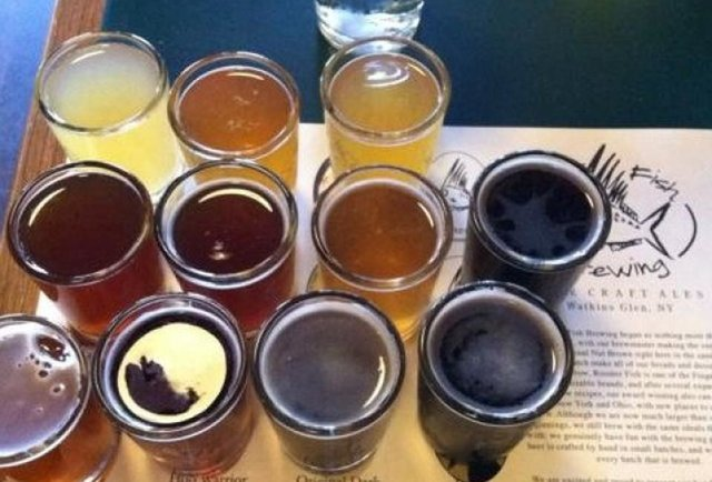 Rooster Fish beers