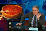Jon Stewart Chicago deep dish pizza