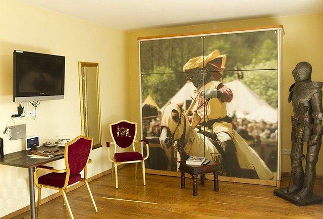 Beverland hotel room