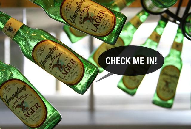 Yuengling bottles