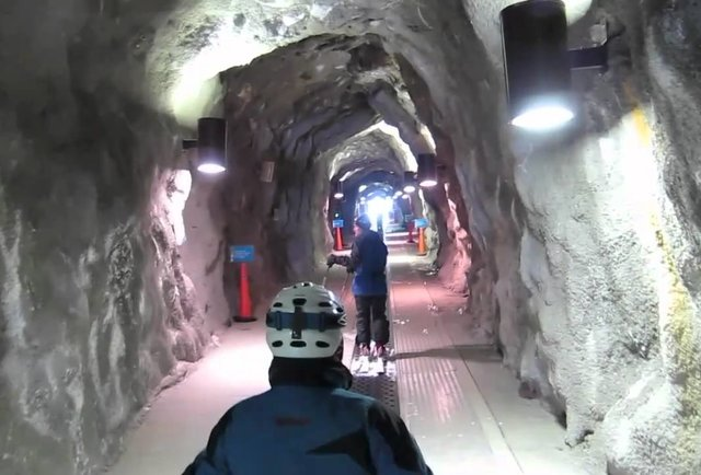 The Peruvian Tunnel at Snowbird