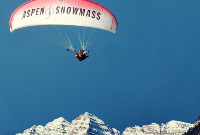 aspen snowmass paragliding