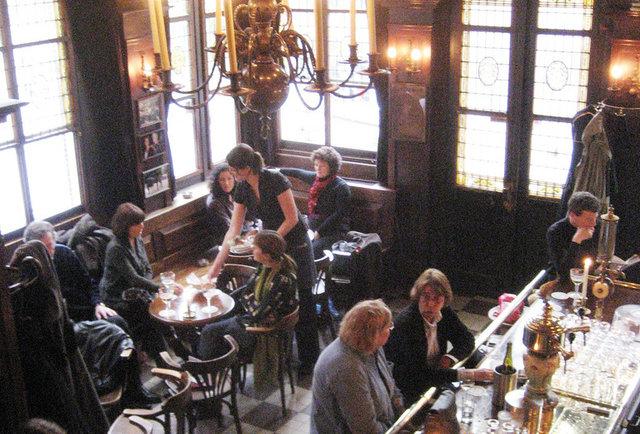 Café 't Smalle Amsterdam