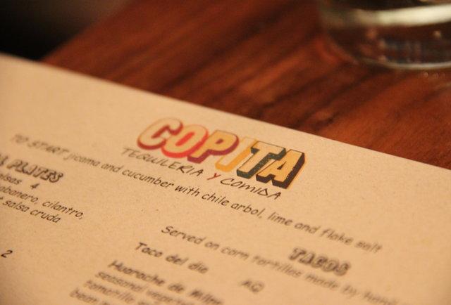 copita menu