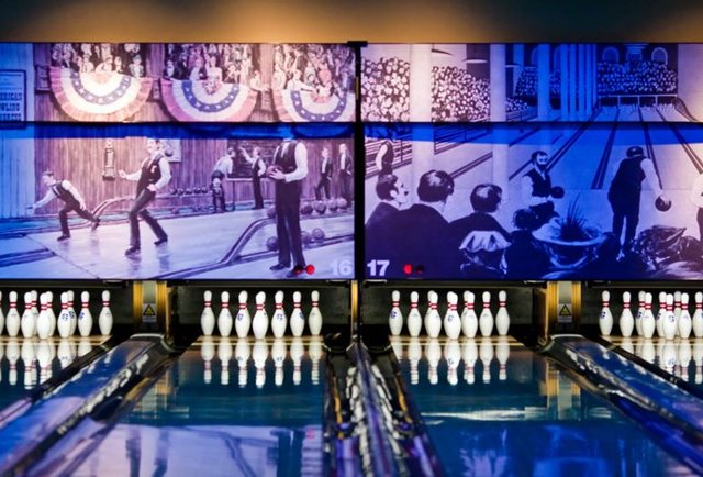 Pinstripes Bowling Bocce Bistro? Winter Preview DC