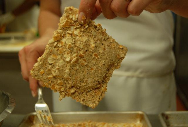 pretzel coated pbr wonton