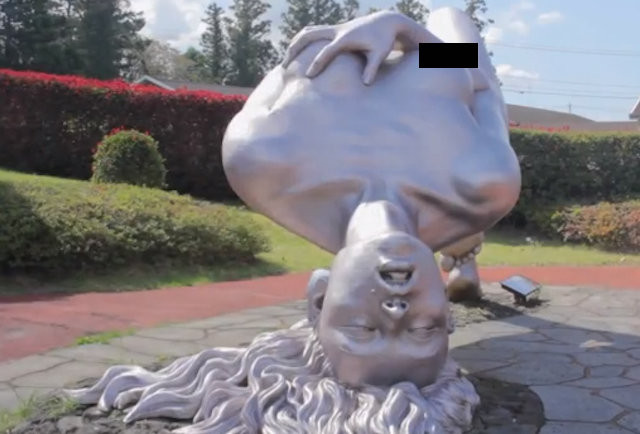 Breaks erotic statues in the uhuru park Call the