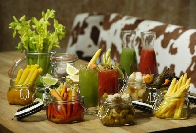 urban farmer bloody mary bar