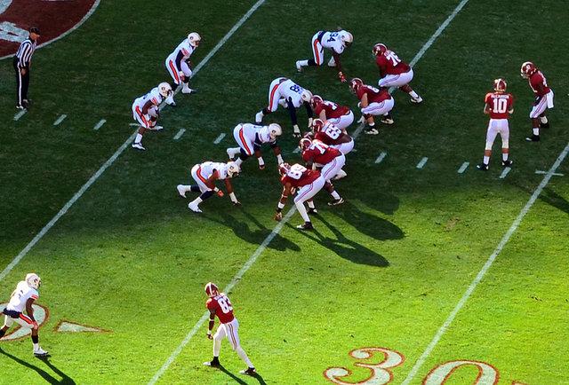 The Iron Bowl: Auburn University vs. the University of Alabama football