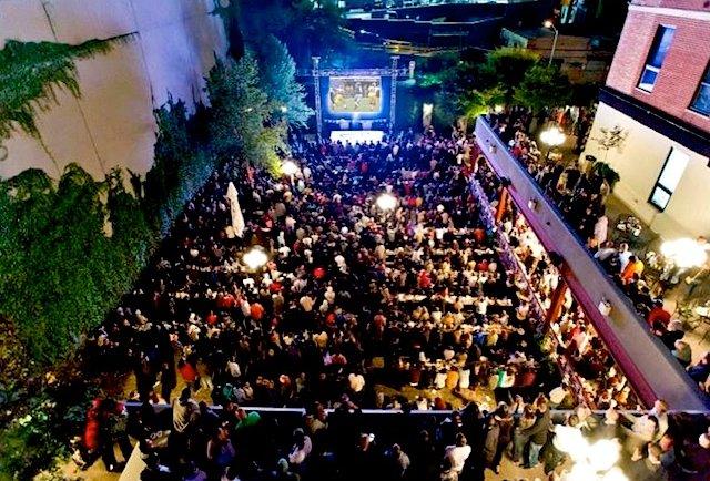 Beer Garden Studio Square Halloween Party 2014 Buy
