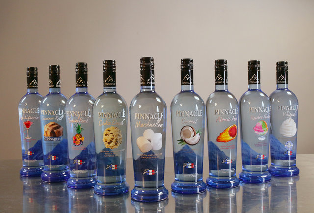 ... Rank: 9 Pinnacle flavored vodkas, from cookie dough to marshmallow