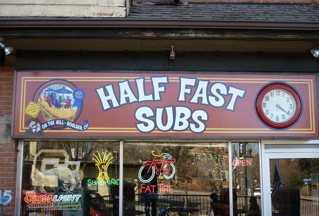 half fast subs
