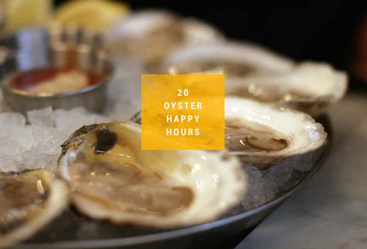 Oyster Happy Hours BOS