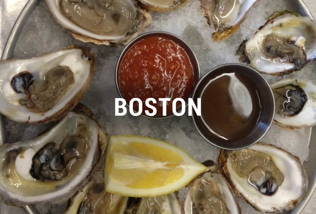 Boston Oyster Happy Hours BOS