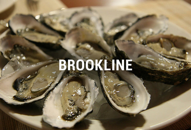 Brookline Oyster Happy Hours BOS