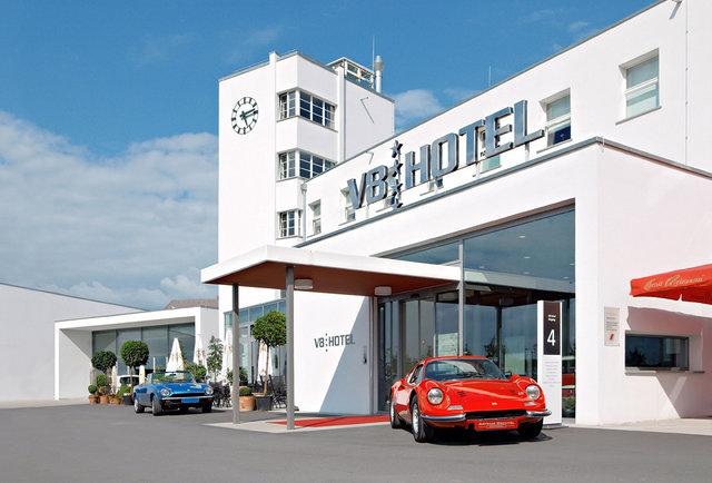v8 hotel front