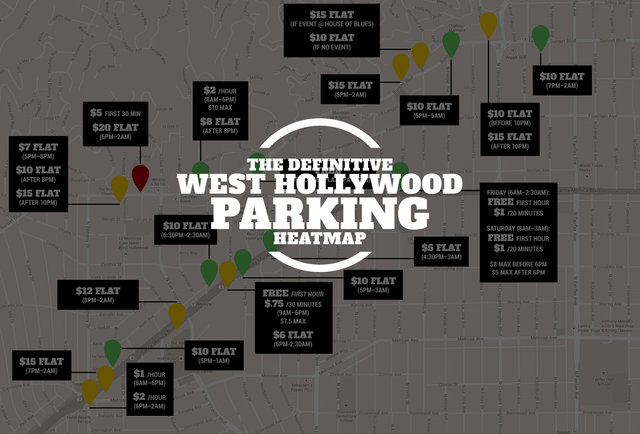 How much every weho parking lot actually costs thrillist la for How much to park at lax