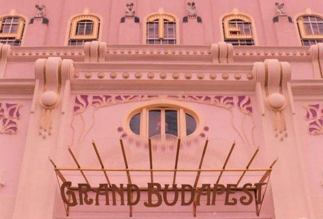 Grand Budapest Hotel exterior