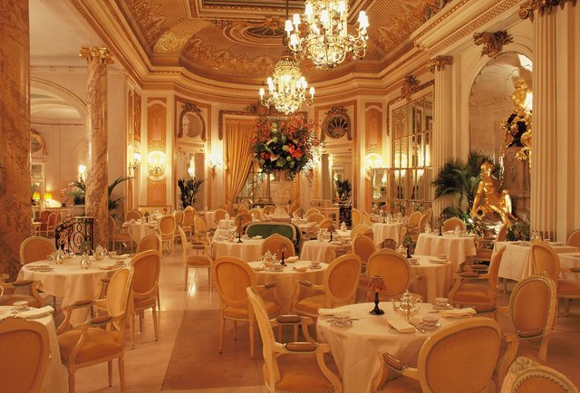 The Ritz tea room