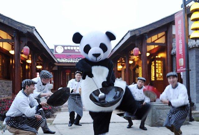 panda inn exterior