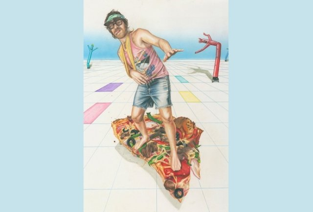 Dudes on Pizza
