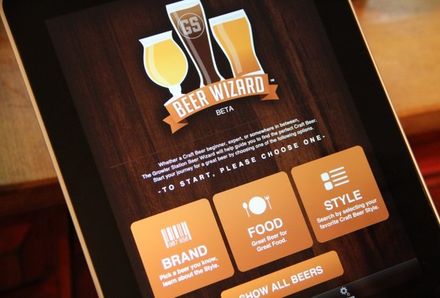 A beer store with its very own app