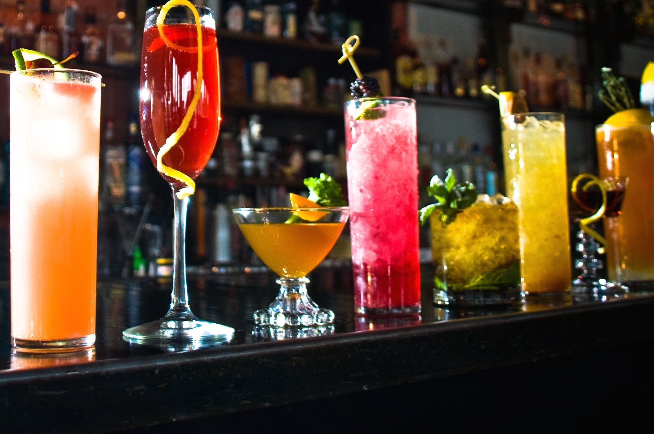 The 33 best cocktail bars in the country for Great alcoholic mixed drinks