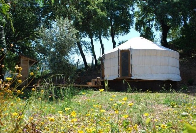 Cloud House Farm Yurts
