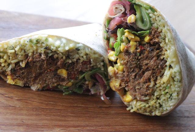 Ramen Burrito