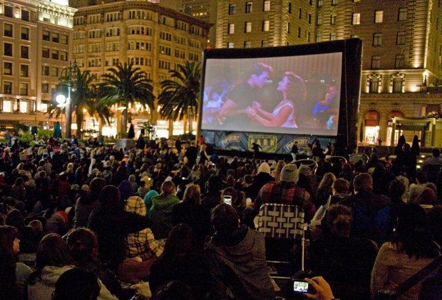 free outdoor movie screening park summer sf