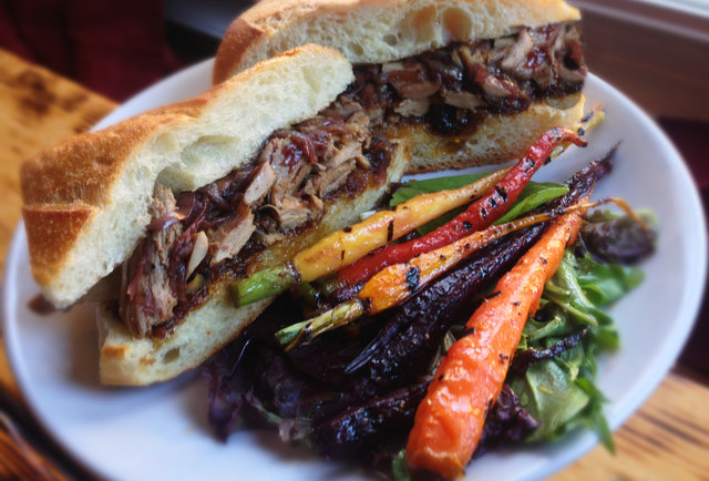 Kangaroo Boxing Club Under the radar sandwiches DC