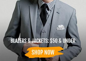 Blazers & Jackets: $50 &  Under