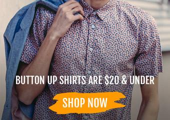 Button Ups: $20 & Under