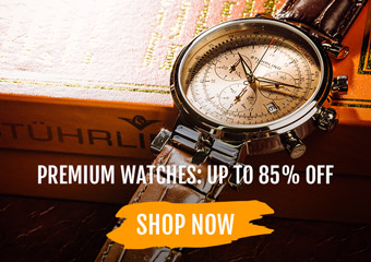 Premium Watches Up to 85% Off
