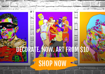 Up to 80% Off Artwork