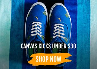 Casual Kicks Under $30
