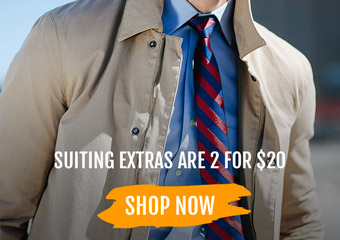 2 for $20 Suiting Essentials