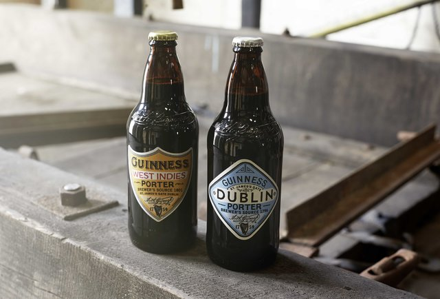 Guinness West Indies Porter and Dublin Porter
