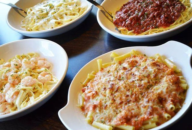 Olive garden never ending pasta pass on ebay for How much is soup and salad at olive garden