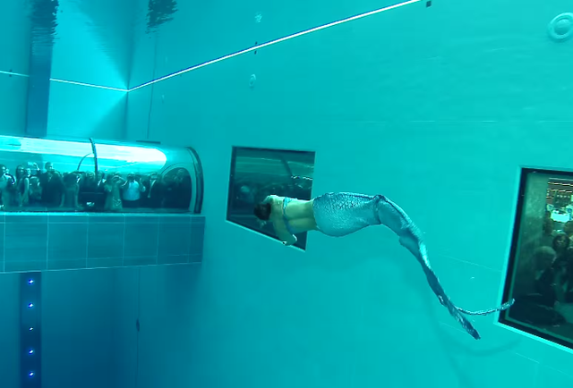world 39 s deepest swimming pool in italy