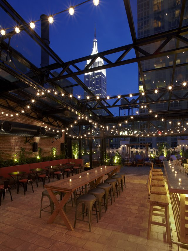 The 10 Best NYC Rooftop Bars Open Year Round
