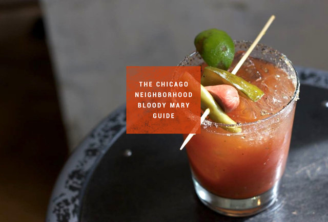 The best Bloody Mary in 23 Chicago neighborhoods