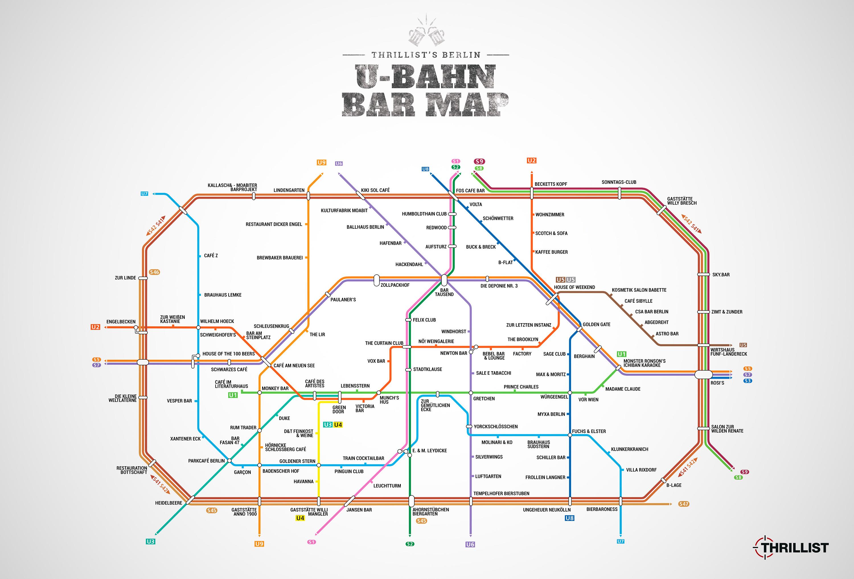 carte des bars ubahn berlin